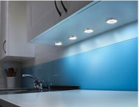 under cabinet lighting in the kitchen the types available. Black Bedroom Furniture Sets. Home Design Ideas