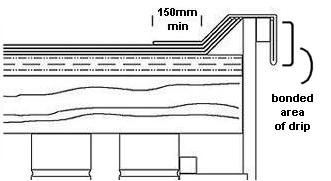 How To Lay A Three Layer Felt Flat Roof Using Cold Adhesive